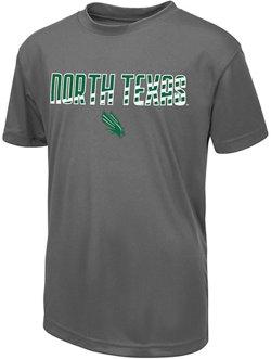 Colosseum Athletics Boys' University of North Texas Team Stripe T-shirt