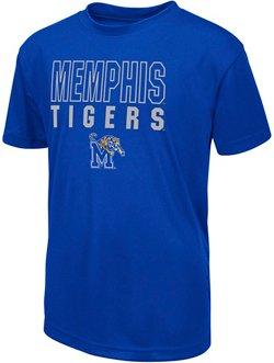 Colosseum Athletics Boys' University of Memphis Team Mascot T-shirt