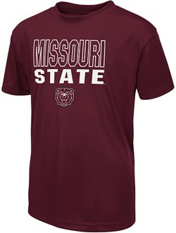 Colosseum Athletics Boys' Missouri State University Team Mascot T-shirt