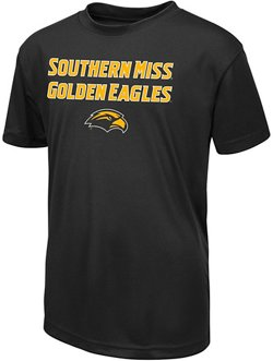 Colosseum Athletics Boys' University of Southern Mississippi Team Mascot T-shirt