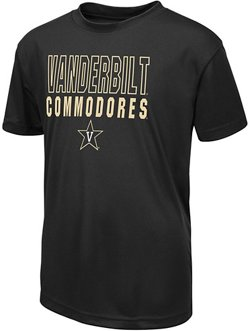Colosseum Athletics Boys' Vanderbilt University Team Mascot T-shirt