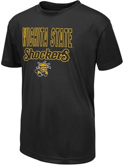 Colosseum Athletics Boys' Wichita State University Team Mascot T-shirt