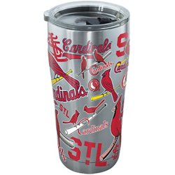 St. Louis Cardinals 20 oz All Over Stainless-Steel Tumbler