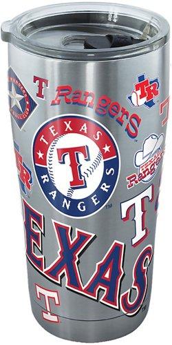 Tervis Texas Rangers 20 oz Stainless-Steel Tumbler