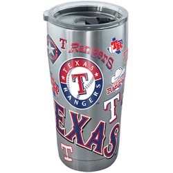 Texas Rangers 20 oz Stainless-Steel Tumbler