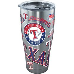 Texas Rangers 30 oz All Over Stainless-Steel Tumbler