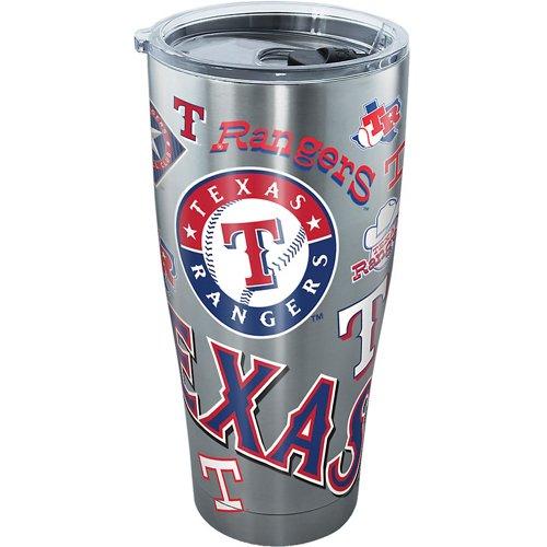 Tervis Texas Rangers 30 oz All Over Stainless-Steel Tumbler