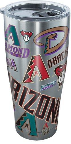 Tervis Arizona Diamondbacks All Over 30 oz Stainless-Steel Tumbler