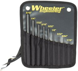 Wheeler® Engineering 9-Piece Roll Pin Punch Set