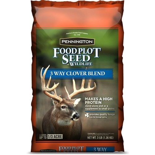 Pennington 3-Way Clover Blend Wildlife Food Plot Seed