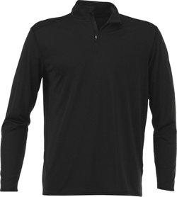 BCG Men's Turbo 1/4 Zip Long Sleeve Shirt