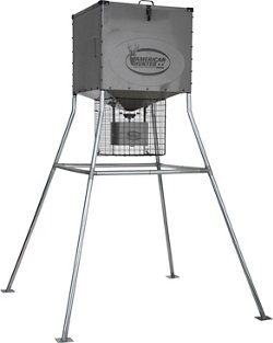 Knock Down 440 lb Digital Deer Feeder Kit
