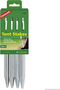 Coghlan's 9 in Steel Tent Stakes 4-Pack