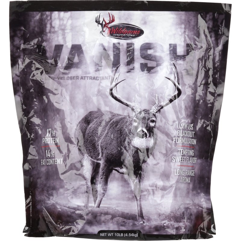 Wildgame Innovations Vanish 10 lb Deer Attractant – Game Feed And Supplmnts at Academy Sports
