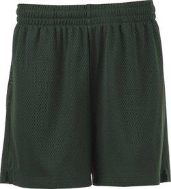 BCG Women's Basic Porthole Mesh Basketball Short
