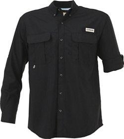 Magellan Outdoors Men's Laguna Madre Solid Long Sleeve Fishing Shirt