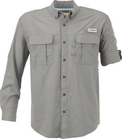 Men's Laguna Madre Solid Long Sleeve Fishing Shirt