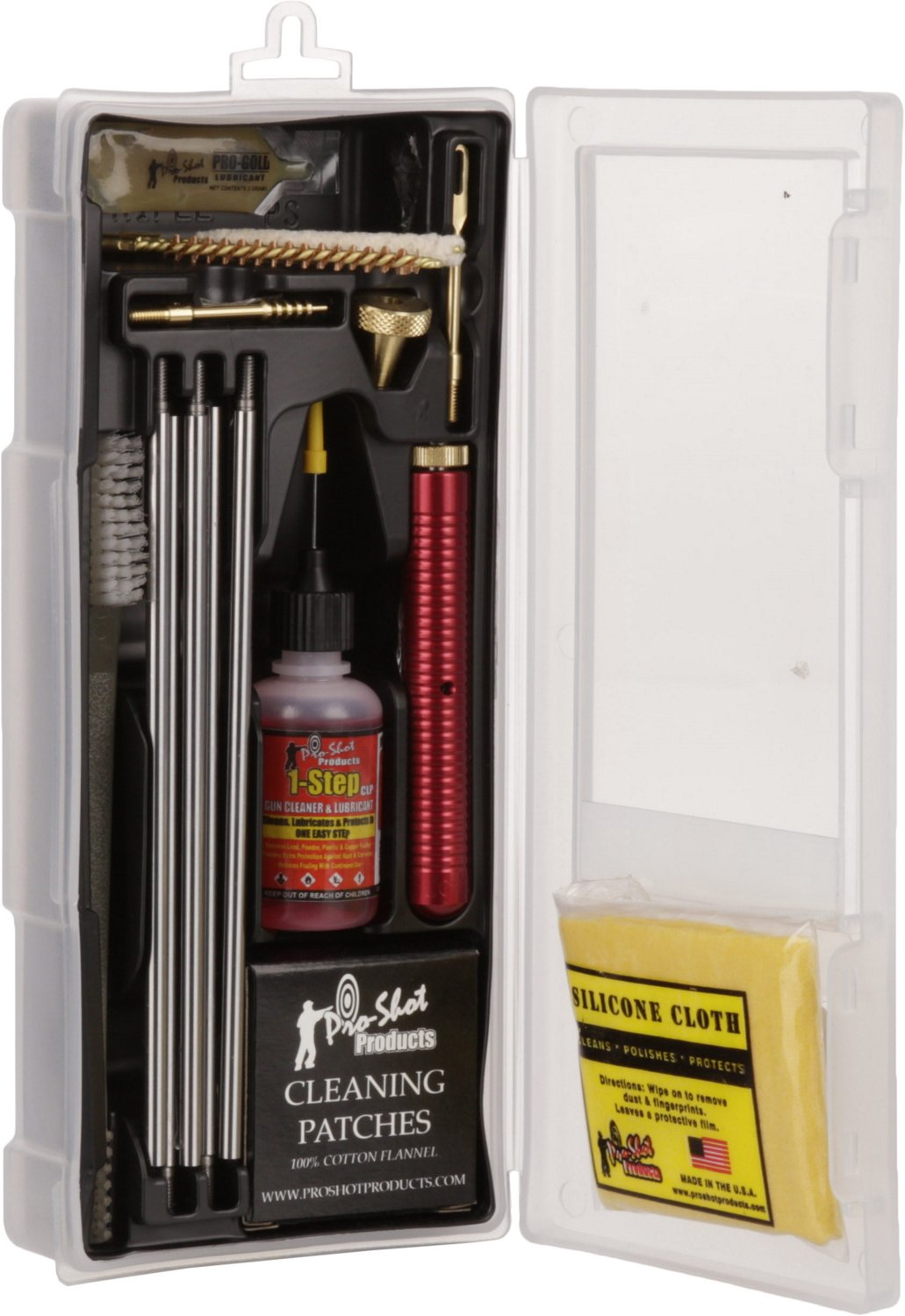 Pro-Shot Products .22 - .223/5.56mm Caliber Rifle Classic Box Cleaning Kit - view number 2