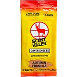 Wildlife Research Center® Scent Killer® Autumn Formula® Dryer Sheets 12-Pack