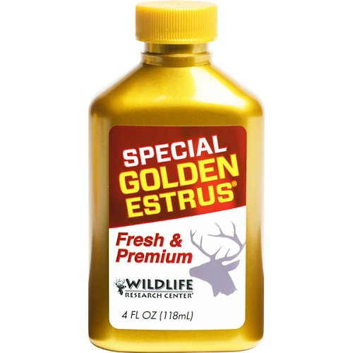 Wildlife Research Center® Special Golden Estrus® 4 fl. oz. Deer Attractrant