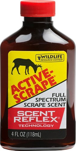 Wildlife Research Center® Active-Scrape® 4 fl. oz. Full Spectrum Scrape Hunting Deer Scent