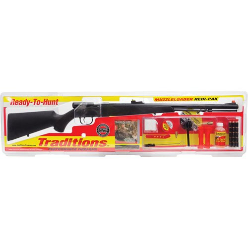 Traditions Tracker 209 Bolt Inline .50 Break-Open Muzzleloader Rifle