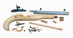 Kentucky .50 Sidelock Black Powder Pistol Kit