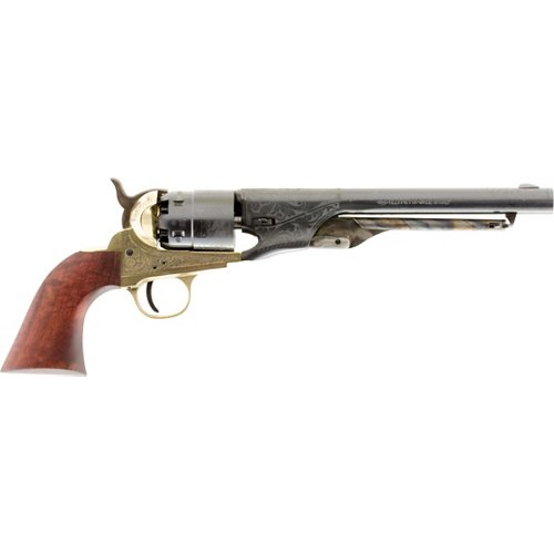 Traditions 1860 Army Engraved .44 Black Powder Revolver