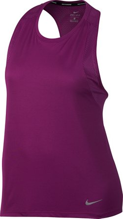 Nike Women's Dry Miler Plus Size Running Tank Top