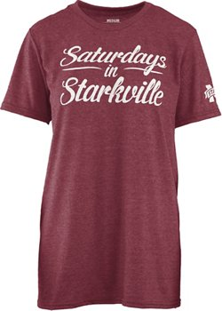 Three Squared Juniors' Mississippi State University Saturday T-shirt