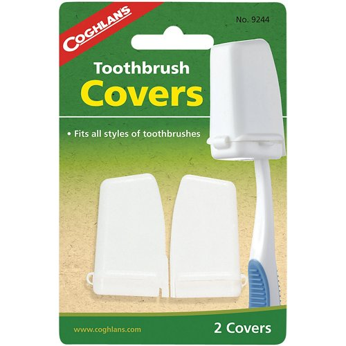 Coghlan's Toothbrush Covers 2-Pack