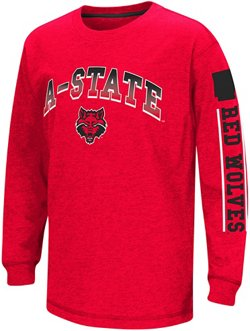 Boys' Arkansas State University Grandstand Long Sleeve T-shirt