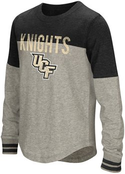 Colosseum Athletics Girls' University of Central Florida Baton Long Sleeve T-shirt