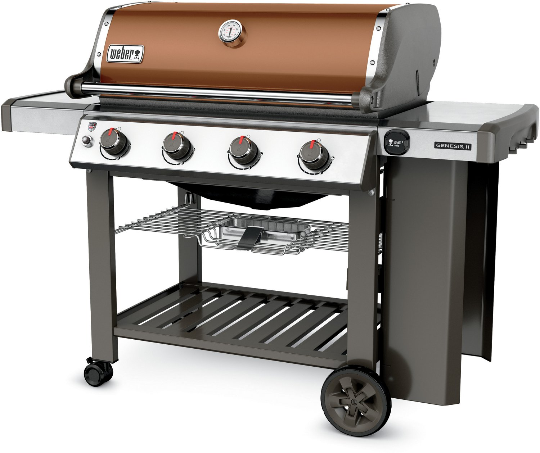 Weber Genesis II E-410 4-Burner Liquid Propane Gas Grill - view number 2