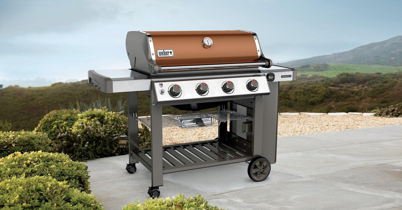 Weber Genesis II E-410 4-Burner Liquid Propane Gas Grill - view number 8