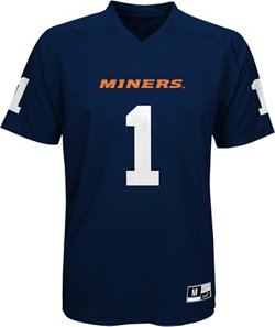 Boys' University of Texas at El Paso Football Jersey Performance T-shirt