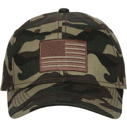 Academy Sports + Outdoors Men's Americana Camo Twill Hat