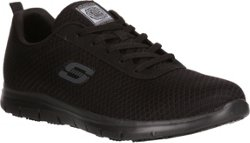 SKECHERS Women's Work Relaxed Fit Ghenter Bronaugh Slip-Resistant Work Shoes