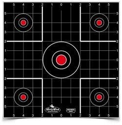 Birchwood Casey Dirty Bird 12 in Sight-in Targets 12-Pack