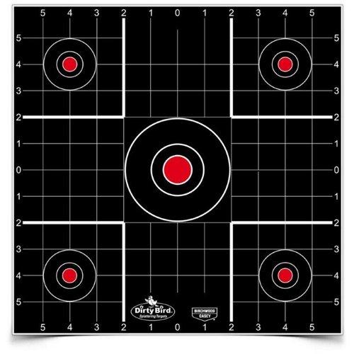 Birchwood Casey Dirty Bird 12 in Sight-in Targets 12-Pack