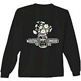 New World Graphics Women's Vanderbilt University Bouquet Long Sleeve T-shirt