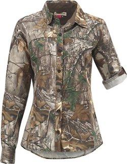 Magellan Outdoors Women's Eagle Pass Deluxe Long Sleeve Shirt