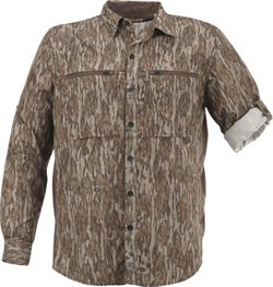 Magellan Outdoors Men's  Eagle Pass Deluxe  Long Sleeve Shirt