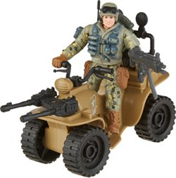 U.S. Army Assault 4-Wheeler Toy Set