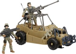 U.S. Army Desert Patrol Vehicle Toy Set