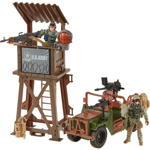 Excite U.S. Army Observation Tower Playset