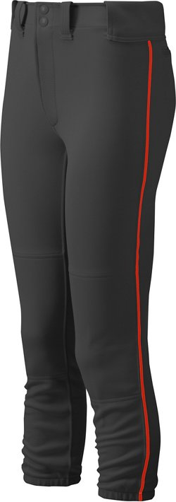 Women's Select Belted Piped Softball Pant