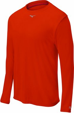Men's Comp Long Sleeve Baseball Crew Shirt