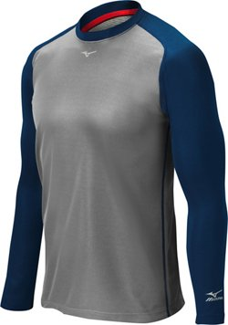 Mizuno Men's Pro Breath Thermo Long Sleeve Training Top