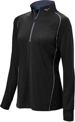Mizuno Women's Comp Softball 1/2 Zip Hitting Top